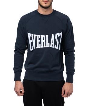 Crewneck Cotton Sweatshirt - Blu Navy (special edition)