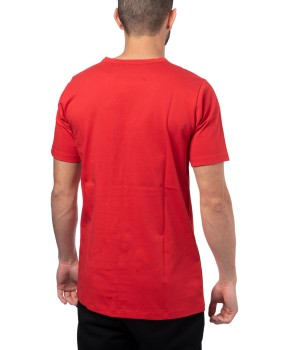 Oversized Logo Printed  Cotton T-Shirt  Jersey - Red (special edition)