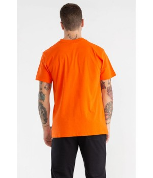 "T-SHIRT COTTON  JERSEY "" LOGO"" PANEL"