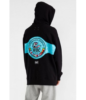 "COTTON BLEND SWEATSHIRT HOODIE  ""WBC"" BACK"