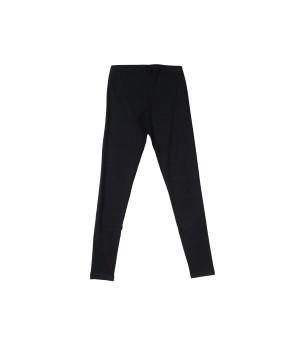 Sportswear Stretch Cotton Leggings  - Black
