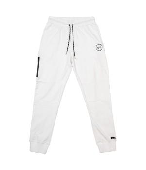 Logo Details Jersey Sweatpants - White