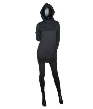 Set Sweatshirt Hoodie & Leggings - Black