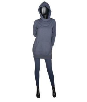 Set Sweatshirt Hoodie & Leggings - Navy/Blue