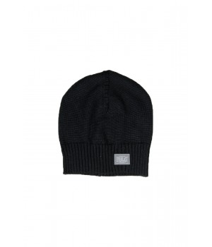 Beanie  Hat Blend Logo Detail - Black