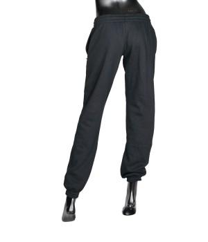 Logo Panel  Sweatpants - Black