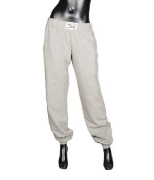 Logo Panel  Sweatpants - Grey