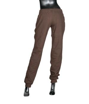Logo Panel  Sweatpants - Shocolate
