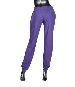 Logo Panel  Sweatpants - Purple