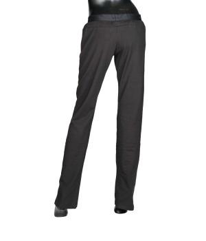 Soft lightweight Jersey Logo Waistband Lycra - Black