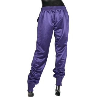 Logo Details Track Pants - Purple