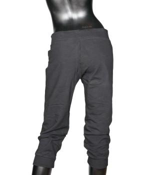 Jersey Fit Cropped  Sweatpants - Black