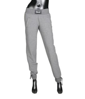 Logo Panel  Jersey Sweatpants - Grey