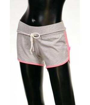 High Band Jersey Sweat Shorts - Grey Mel