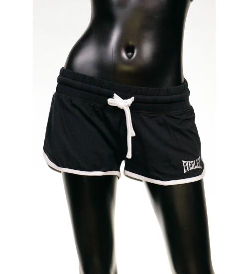 High Band  Sweat Shorts - Black