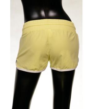 High Band  Sweat Shorts - Yellow