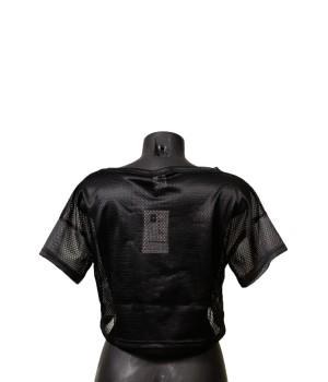 Love NY  Print  Cropped T-Shirt - Black