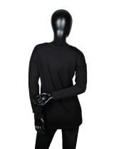 Riverse Logo Long-Sleeve T-Shirt - Black